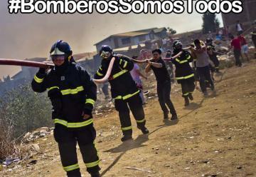 Sumate al #BomberosSomosTodos