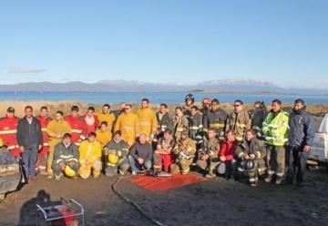 Todo un éxito las jornadas de actualización para bomberos