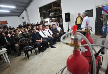 La Asociación de Bomberos de General Belgrano fue presentada en sociedad