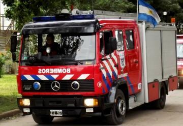 Llego a Gral Ramirez la nueva unidad de bomberos