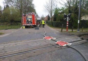 Un grupo de bomberos creó una foto falsa que se hizo viral