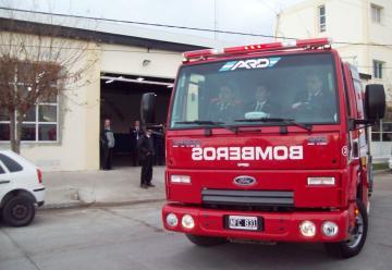 Nueva unidad de rescate vehicular para Bomberos de Rawson