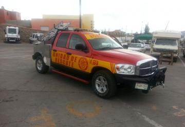 El departamento de bomberos cuenta con nueva unidad rapida