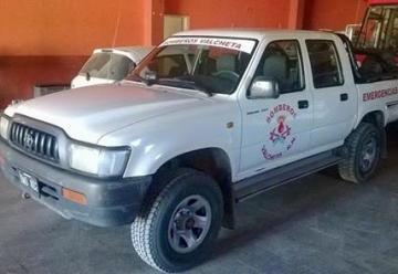Nuevo vehículo para los Bomberos Voluntarios.