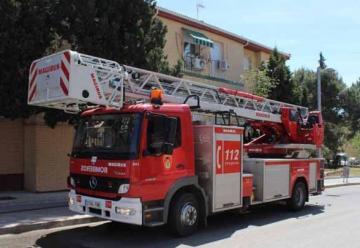 Nuevo vehículo al Parque de Bomberos de Linares