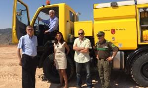 Nueva autobomba para la Brigada Forestal de Jumilla