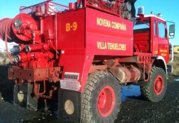 Nueva unidad forestal para bomberos de Laguna Blanca