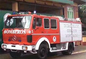 Bomberos Voluntarios de Montecarlo recibió una unidad de rescate