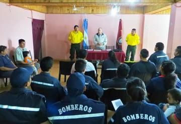Inauguraron el cuartel de Bomberos Voluntarios de Salvador Mazza