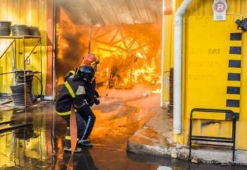 Gran incendio terminó con el Hipertehuelche de Caleta Olivia