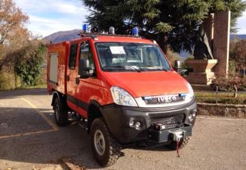 Nuevos vehículos para el Consorcio de Bomberos de Granada