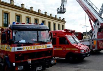Bomberos de Buenos Aires realizo muestra provincial en Luján