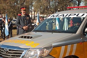 Nueva unidad móvil para los bomberos voluntarios de Maipú