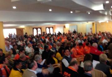 Más de 500 bomberos se capacitaron en Carlos Paz