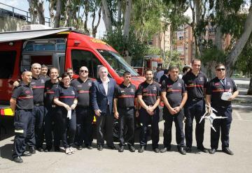 El Consorcio Provincial de Bomberos de Málaga estrena unidad de mando