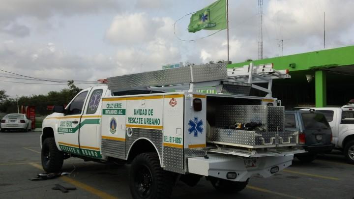 Llego la unidad nueva de rescate para la Cruz Verde