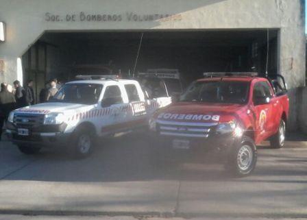 Los bomberos de Balcarce presentaron dos nuevas unidades