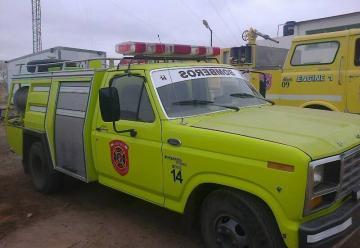 Bomberos de Rincón de los Sauces tiene nueva unidad