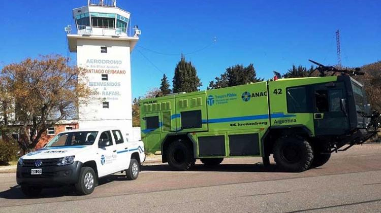 Nuevos vehículos para el aeropuerto de San Rafael
