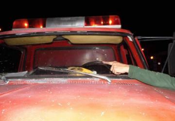 Indignación en Virrey del Pino por destrozos a autobombas