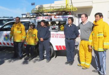 Nueva unidad de rescate para Bomberos Voluntarios