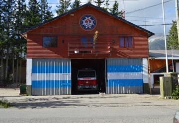 Operativo de prevención de Bomberos de Villa La Angostura