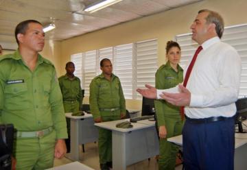 Inauguran Centro Regional de Bomberos cubano-ruso