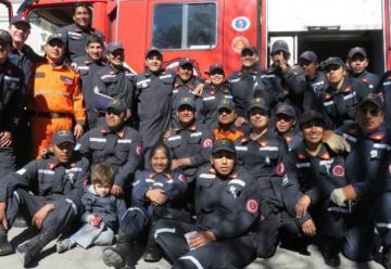 Los bomberos de Cafayate, cada vez más cerca de contar con una estación propia
