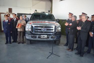 Los Bomberos Voluntarios de General Madariaga presentaron una nueva unidad