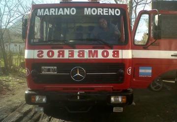 Llego la nueva autobomba a Mariano Moreno