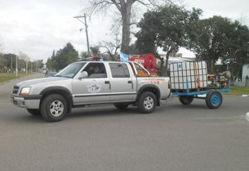 Bomberos Voluntarios de Santa Elena presentaron nueva unidad móvil