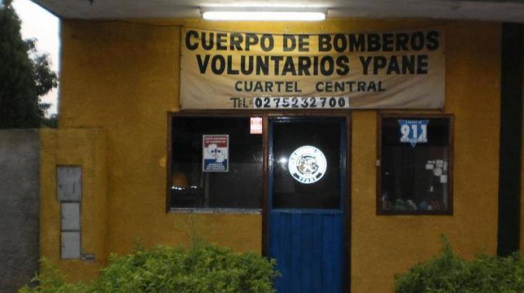 Desalojan a bomberos de Ypané