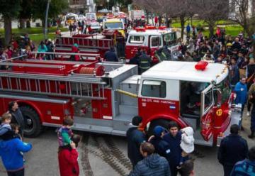 Llegaron dos nuevas unidades a Bomberos Voluntarios de San Martin de los Andes