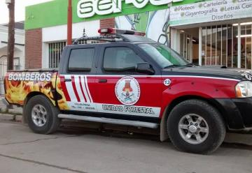 Bomberos Voluntarios de Villalonga sumo una nueva unidad móvil