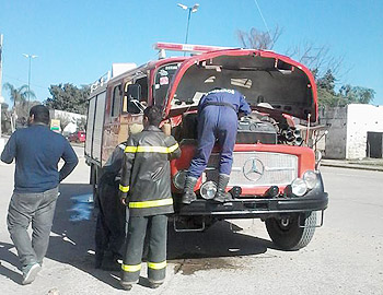 Bomberos Voluntarios de General Mosconi se quedan sin autobomba