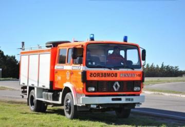 La Asociación Bomberos Voluntarios de General San Martín adquirió un nuevo vehículo.