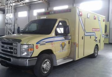 Bomberos Voluntarios de General Villegas, ya cuenta con la nueva ambulancia