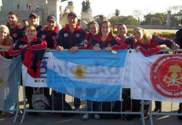 Argentina se destacó en el III Desafío Bombeiros de Brasil