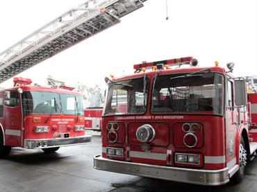 La ciudad de Portland, dona dos vehículos a los bomberos
