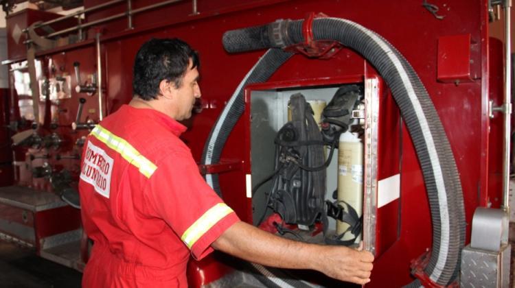 Roban herramientas a los bomberos
