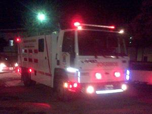 Luego de un tiempo llego la nueva unidad de los bomberos de Choele Choel