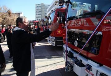Bomberos recibió 7 nuevas unidades de rescate