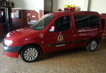 Bomberos Voluntarios de Sarandi adquirió una camioneta O Km