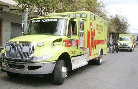 Nuevas ambulancias para Bomberos de Cuenca