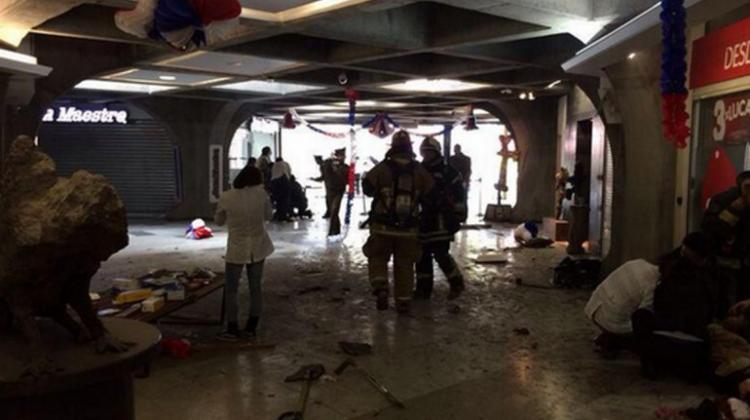 Explosión en un restaurante de Santiago de Chile