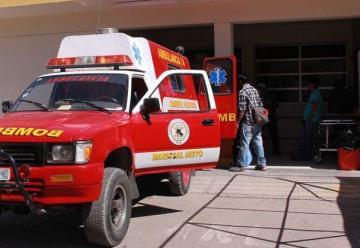 Bomberos esperan entrega de vehículos de rescate