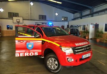 Bomberos de Mijas renueva el vehículo de rescate