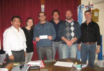 Subsidio para los bomberos voluntarios de Santa Clara de Saguier