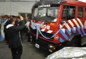 Bomberos de Campana celebraron el 65º aniversario con una nueva unidad