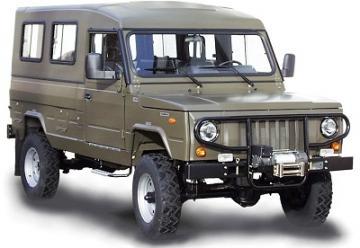 Bomberos del Uruguay reciben vehículos polacos Tarpan Honker